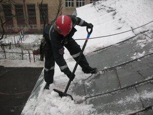 Инструкция по охране труда по очистке крыши от снега