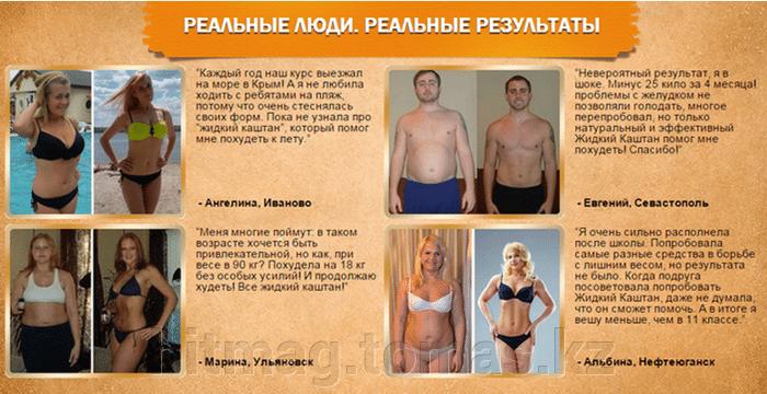 Кто как похудел отзывы похудевших