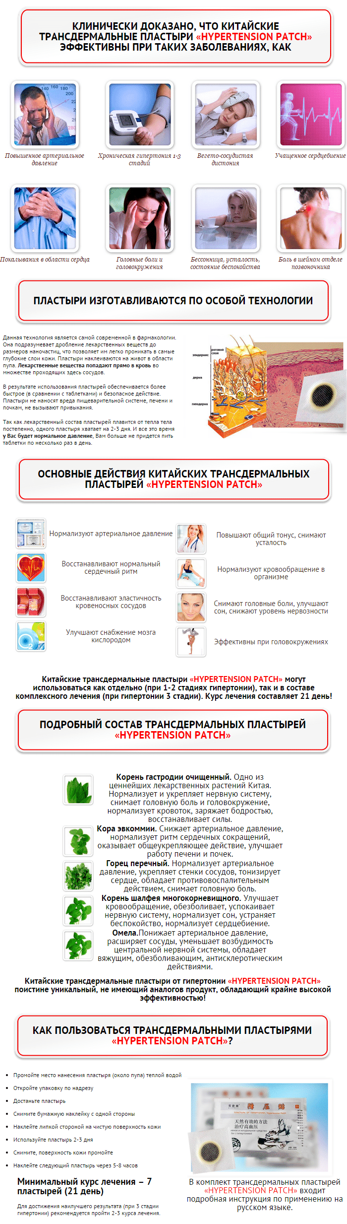 купить Hypertension Patch