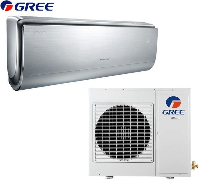 Кондиционер Gree: GWH18UC серия U-crown Inverter (GOLD) ##от компании## Everest climate - ##фото## 1