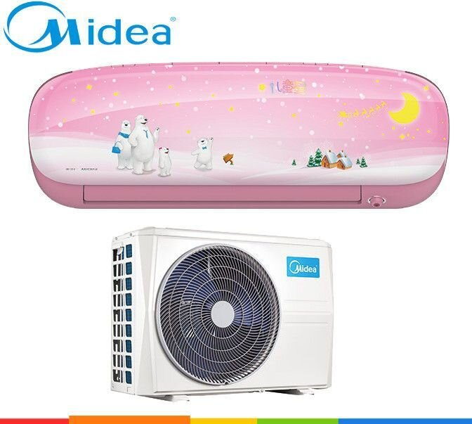 Кондиционер Midea: MSKU-09HRDN1-P (kids star-inverter) ##от компании## Everest climate - ##фото## 1