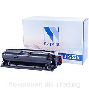 Картридж HP CE253A for CP3525/CM3530 Magenta. от компании Компания BN Trading - фото