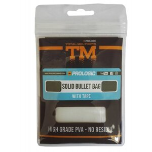 PROLOGIC TM PVA Solid Bullet Bag W/Tape 15pcs 55X120mm